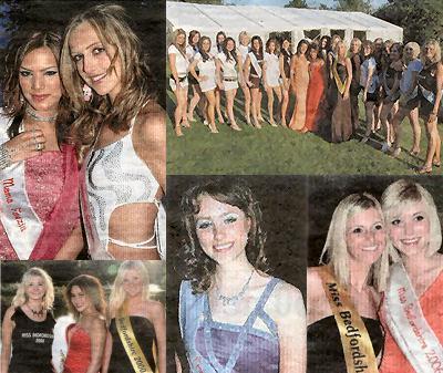 Miss Bedfordshire contestants