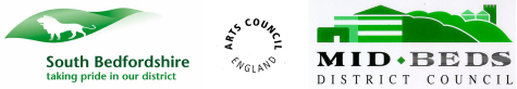 South Bedfordshire, Arts Council, Mid-Beds District Council