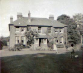 The Vicarage, circa early 1960s (click to view full photo)