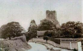 Edlesborough Church, circa 1920 (click to view full photo)