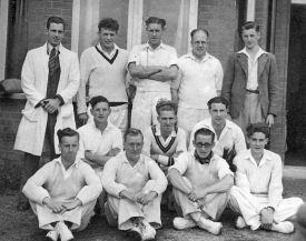 Edlesborough Cricket Team, circa 1955 (click to view full photo)
