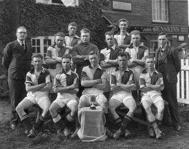 Edlesborough Football Team, 1930 (click to view full photo)
