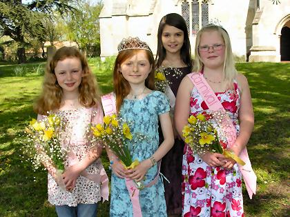 Carnival Queen, Princess and Attendants