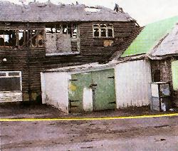 Aftermath: The damage to Honeywick Works
