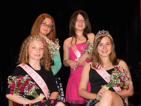 Carnival Queen, Princess & Attendants 2009
