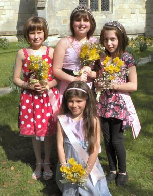 2010 Carnival Queen, Princess & Attendants
