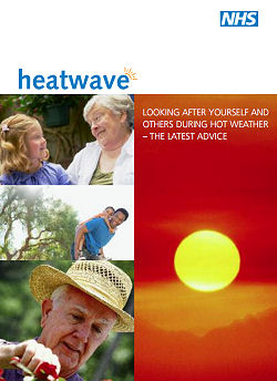 NHS Heatwave advice