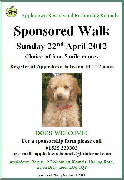 Appledown Rescue Sponsored Walk