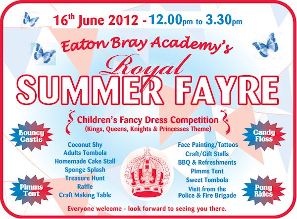 Eaton Bray Academy's Royal Summer Fayre