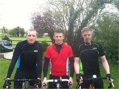 Chris, Ryan and Paul Ride to Paris