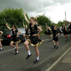 Carnival 2012 Majorettes