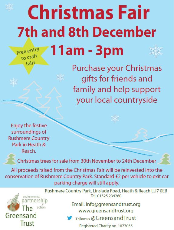 Christmas Fair at Rushmere Country Park - 7-8 Dec 2013