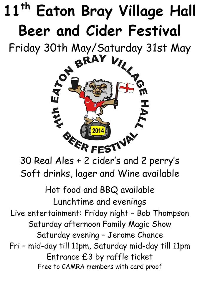 11th Eaton Bray Beer & Cider Festival