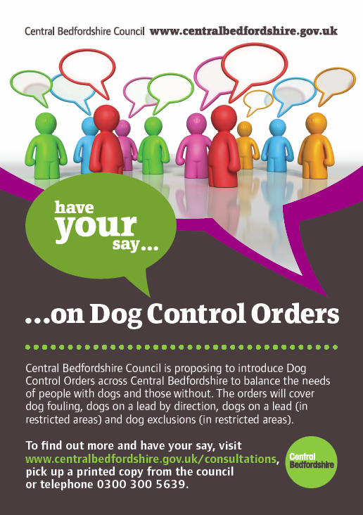 Dog Control Orders Consultation