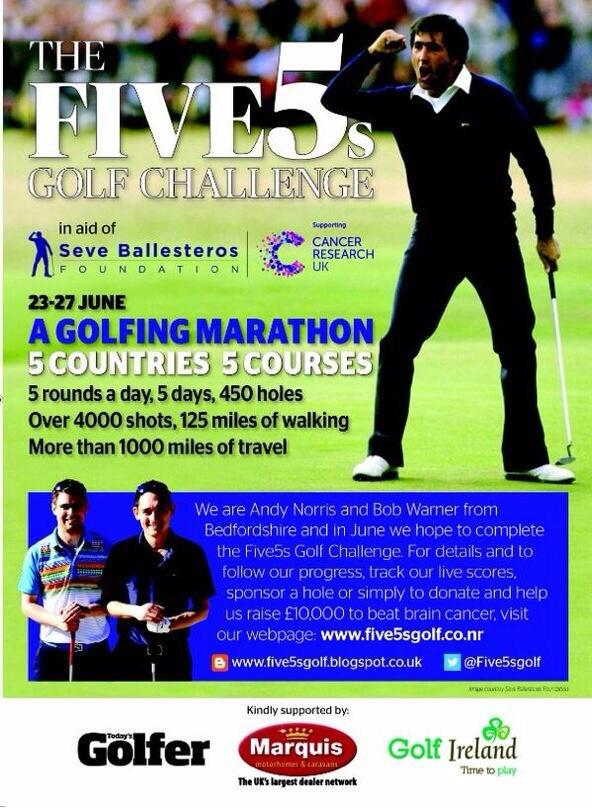 The Five 5s Golf Challenge