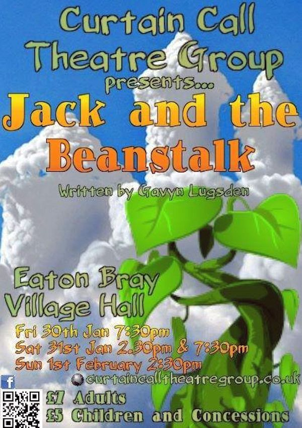 Curtain Call Theatre Group present Jack and The Beanstalk 2015