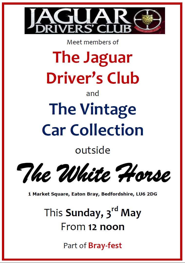 Jaguar Driver's Club - 3 May 2015
