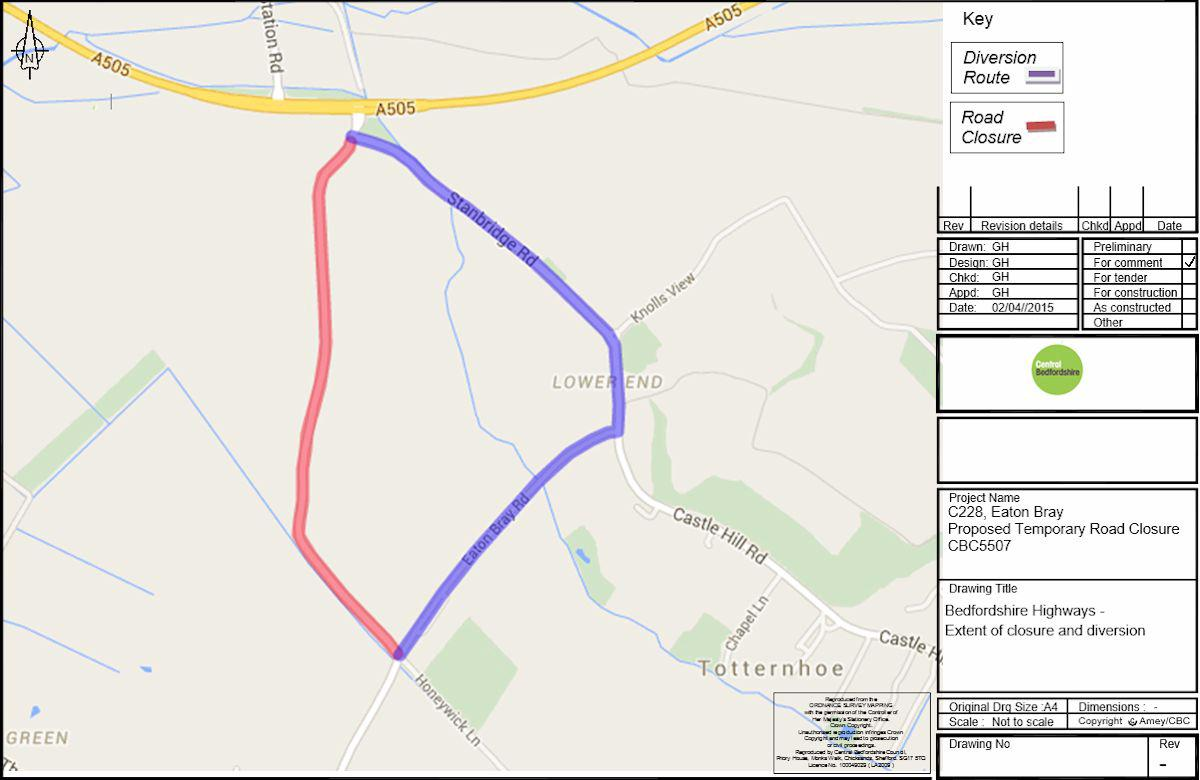 C228 Temporary Road Closure