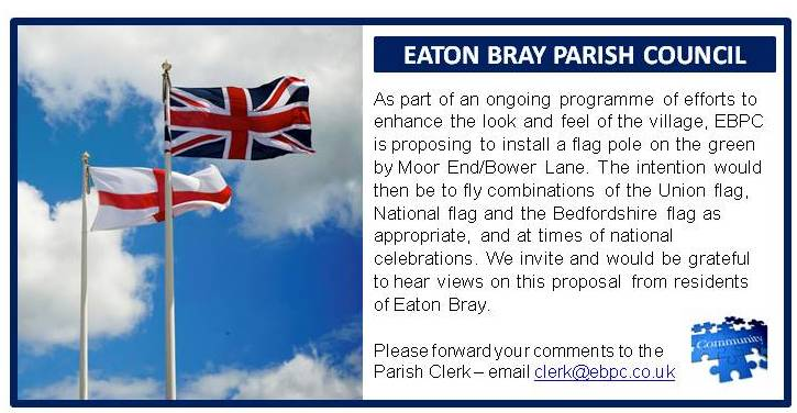 Eaton Bray Parish Council - Village Flag Pole proposal