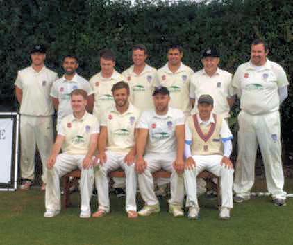 Eaton Bray Cricket Club winning team