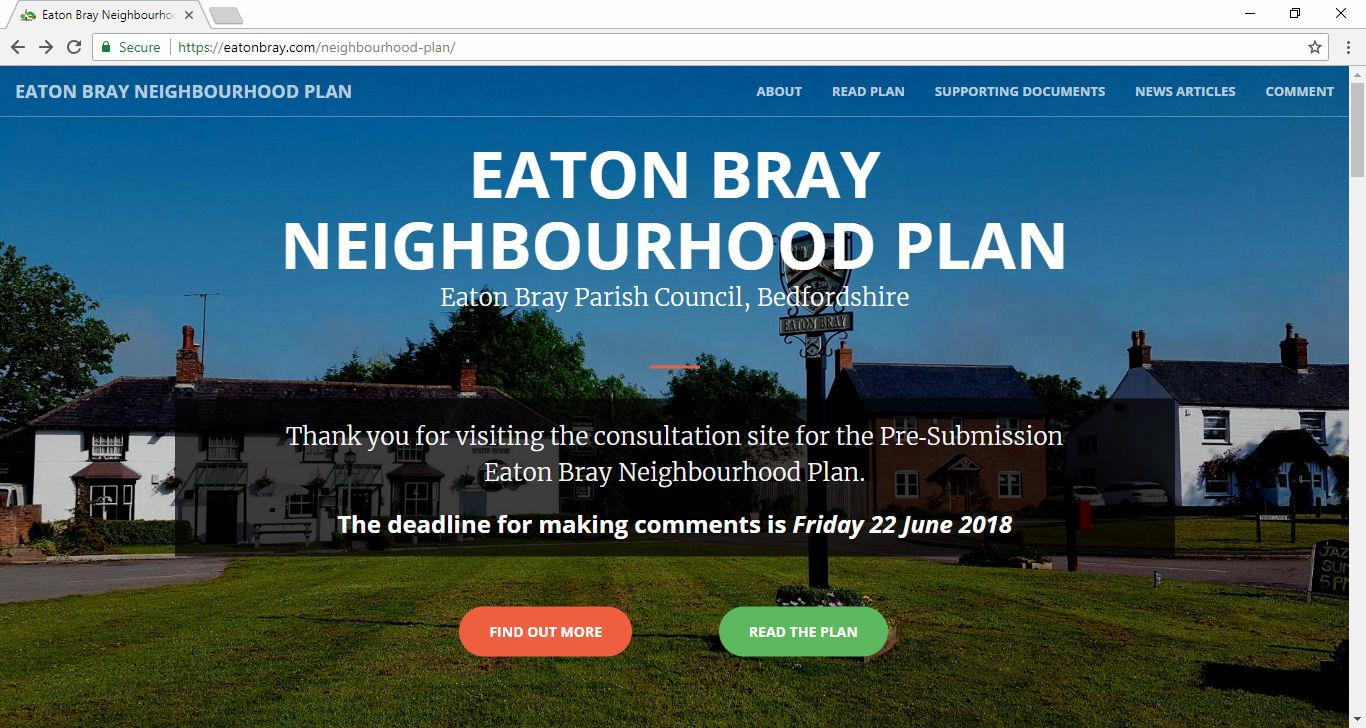 Eaton Bray Neighbourhood Plan Consultation