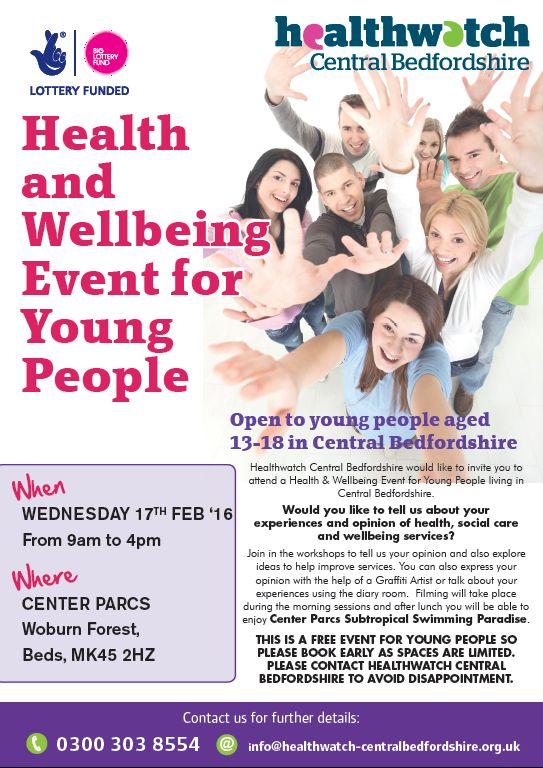 Health and Wellbeing Event for Young People
