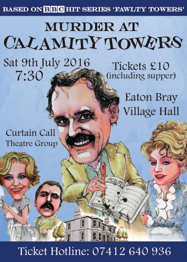 Murder at Calamity Towers poster
