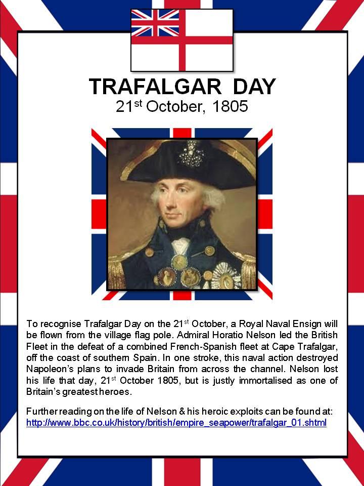 Trafalgar Day Poster