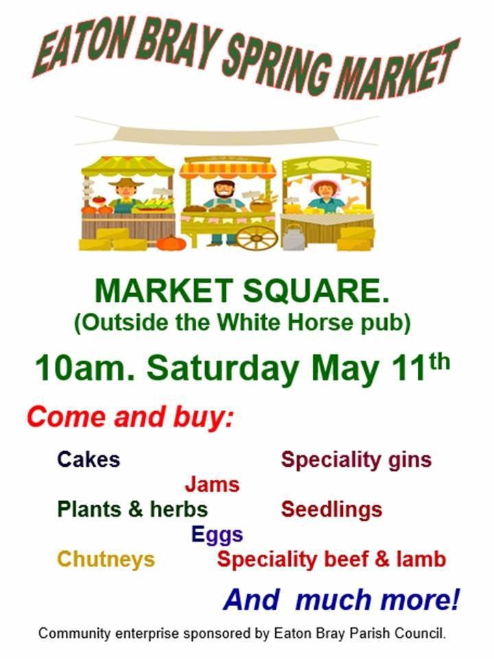 Eaton Bray Spring Market - 11 May