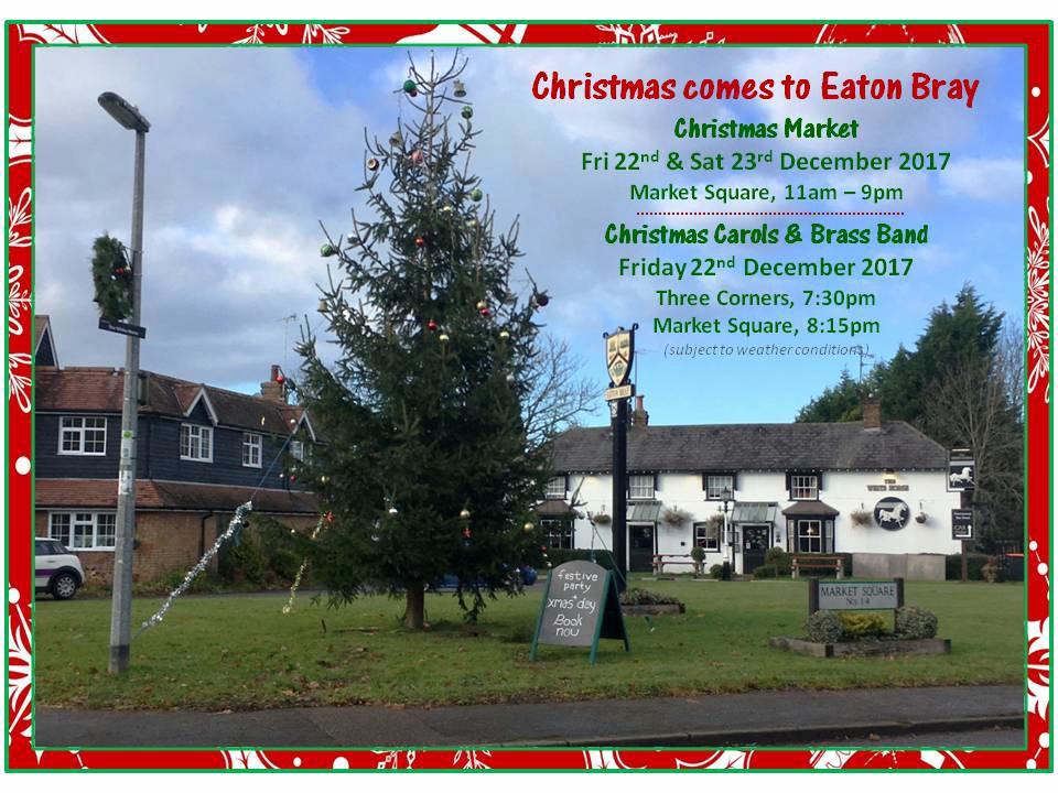 Christmas comes to Eaton Bray 2017