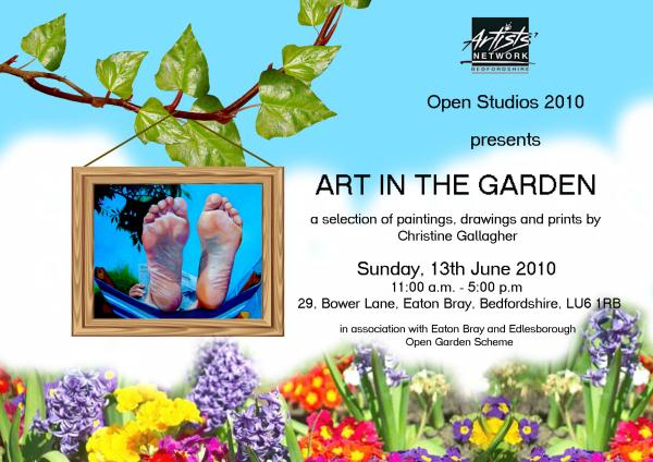 Art in the Garden: a selection of paintings, drawings and prints by Christine Gallagher