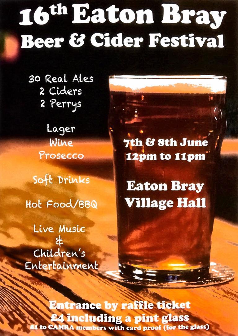 Eaton Bray Beer Festival 2019